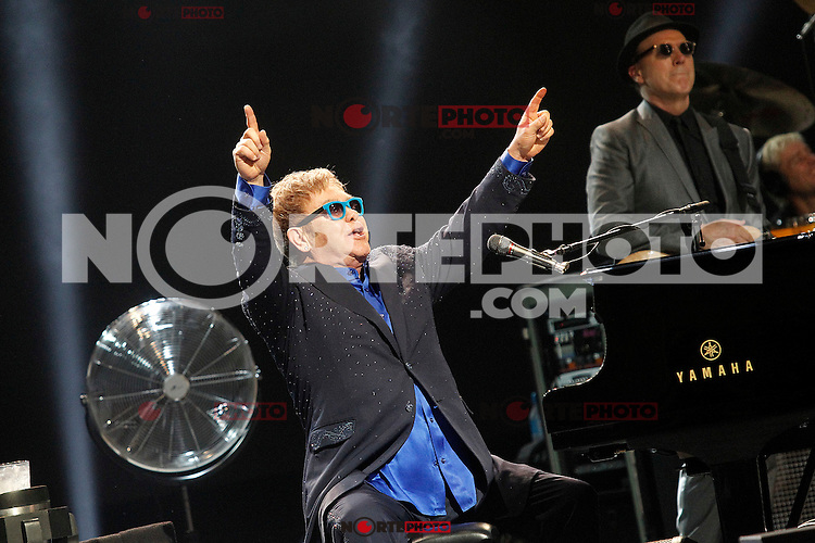 Elton John in concert.July 20, 2015. (/NortePhoto.com/ALTERPHOTOS/Acero)