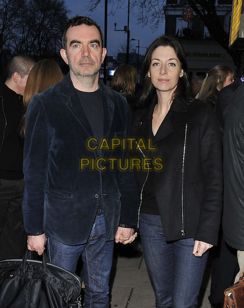 LONDON, ENGLAND - MARCH 25: Simon Aboud &amp; Mary McCartney attend the &quot;20 Feet from Stardom&quot; VIP gala film screening, Everyman Screen on the Green cinema, Upper St., on Tuesday March 25, 2014 in London, England, UK.<br /> CAP/CAN<br /> &copy;Can Nguyen/Capital Pictures