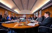 Multi-user ferry terminal meeting at Kiwirail offices, Wellington Railway Station in Wellington, New Zealand on Friday, 25 June 2019. Photo: Dave Lintott / lintottphoto.co.nz