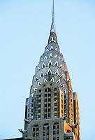 New York: Chrysler Building at dusk. Photo '91.
