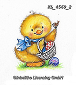 EASTER, OSTERN, PASCUA, paintings+++++,KL4569/2,#e#, EVERYDAY ,chicks,chicken