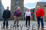 Members of the Ballylongford Enterprise Association standing at the site of O'Sullivan's Mills which was sold for €81,000:00.<br /> L to r: John Fitzell, Mike Finucane, Noel Lynch and Michael Foley.