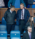 05.05.2018 Rangers v Kilmarnock: Mark Allen and Dave King