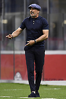 Sinisa Mihajlovic coach of Bologna FC reacts during the Serie A football match between AC Milan and Bologna FC at stadio Giuseppe Meazza in Milano ( Italy ), July 18th, 2020. Play resumes behind closed doors following the outbreak of the coronavirus disease. <br /> Photo Image Sport / Insidefoto