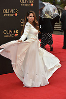 Preeya Kalidas<br /> The Olivier Awards 2018 , arrivals at The Royal Albert Hall, London, UK -on April 08, 2018.<br /> CAP/PL<br /> &copy;Phil Loftus/Capital Pictures