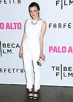 "LOS ANGELES, CA, USA - MAY 05: Claudia Levy at the Los Angeles Premiere Of Tribeca Film's ""Palo Alto"" held at the Directors Guild of America on May 5, 2014 in Los Angeles, California, United States. (Photo by Celebrity Monitor)"