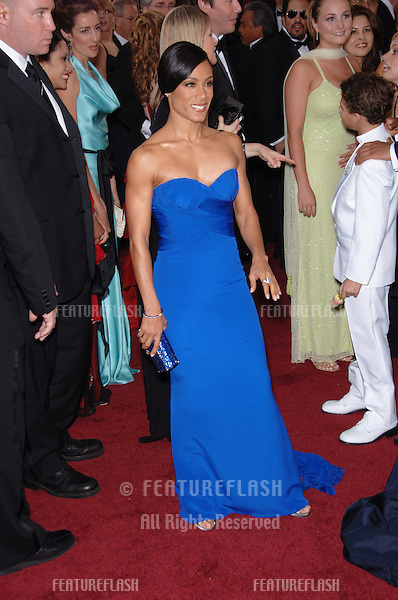 JADA PINKETT SMITH at the 78th Annual Academy Awards at the Kodak Theatre in Hollywood..March 5, 2006  Los Angeles, CA.© 2006 Paul Smith / Featureflash