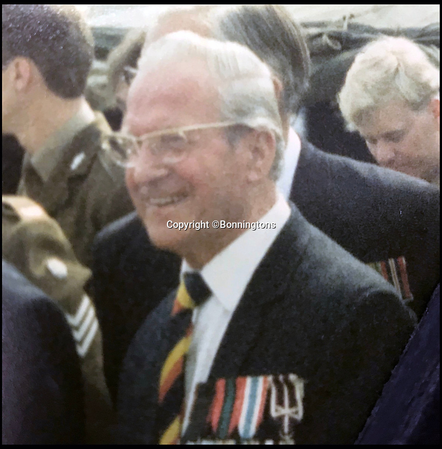 BNPS.co.uk (01202 558833)<br /> Pic: Bonningtons/BNPS<br /> <br /> Trooper Moreton meets Princess Margaret in 1987.<br /> <br /> The amazing story of a fearless soldier who escaped from the Nazis eight times during five years as a POW including once to save a dying friend's life can be told after his bravery medals emerged for sale.<br /> <br /> Trooper Thomas Moreton, of the 19th King's Royal Hussars, was held captive at the notorious Stalag XXB in East Prussia after being captured during the Battle of France in May 1940.<br /> <br /> The tank driver was part of a defiant rearguard helping to buy time for the mass evacuation of British Expeditionary Force soldiers at Dunkirk.<br /> <br /> After being recaptured following one of his escapes, he twice went in front of a Gestapo firing squad but emerged unscathed. On another occasion, he broke out of camp to find a doctor who would tend to his gravely ill comrade as he was being denied treatment by the camp guards.