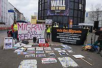 2016/02/06 Berlin | Flüchtlinge gedenken Ceuta-Toten