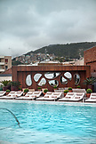 BRAZIL, Rio de Janiero, the rooftop pool at Hotel Fasano