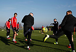 John Lundstram and Jack Rodwell of Sheffield Utd during the Press Conference & Training at the Steelphalt Academy, Sheffield. Picture date: 7th February 2020. Picture credit should read: Simon Bellis/Sportimage
