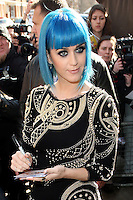 19th March 2012. Singer Katy Perry at the Maida Vale Studios, London for Radio One's Live Lounge.PAP0312KG67.PAP0312KG67... /NortePhoto