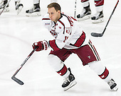 Kyle Criscuolo (Harvard - 11) - The Harvard University Crimson defeated the visiting Rensselaer Polytechnic Institute Engineers 5-2 in game 1 of their ECAC quarterfinal series on Friday, March 11, 2016, at Bright-Landry Hockey Center in Boston, Massachusetts.