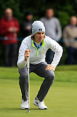 Tommy FLEETWOOD (ENG) during round 1 of the 2015 BMW PGA Championship over the West Course at Wentworth, Virgina Water, London. 21/05/2015<br /> Picture Fran Caffrey, www.golffile.ie: