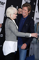 NEW YORK, NY - May 16 :  Ellen Barkin, Denis Leary, at Turner Upfront 2018 at Madison Square Garden in New York. May 16, 2018 Credit:/RW/MediaPunch