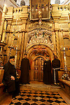 Israel, Jerusalem Old City, the Edicule at the center of the Rotunda in the Church of the Holy Sepulchre, 2005<br />