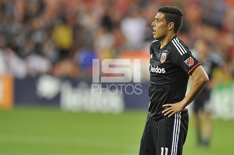 Washington D.C. - May 2, 2015: D.C. United defeated the the Columbus Crew SC 2-0 during the opening game of the 2015 Major League Soccer season at RFK Stadium.
