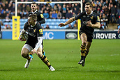 2nd December 2017, Rioch Arena, Coventry, England; Aviva Premiership rugby, Wasps versus Leicester; Elliot Daly of Wasps jinks left