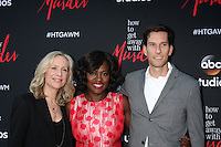 """Betsy Beers, Viola Davis, Peter Nowalk at the """"How To Get Away With Murder"""" ATAS FYC Event, Sunset Gower Studios, Los Angeles, CA 05-28-15<br /> <br /> David Edwards/Newsflash Pictures 818-249-4998"""