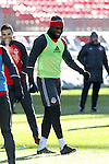 09 December 2016: Toronto's Jozy Altidore. Toronto FC held a training session one day before playing in MLS Cup 2016 at BMO Field in Toronto, Ontario in Canada.