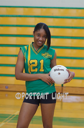 CHS senior captain Monique Daniels.