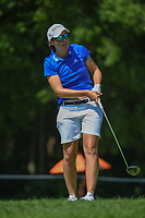 Carlota Ciganda (ESP) watches her tee shot on 15 during round 2 of the 2018 KPMG Women's PGA Championship, Kemper Lakes Golf Club, at Kildeer, Illinois, USA. 6/29/2018.<br /> Picture: Golffile | Ken Murray<br /> <br /> All photo usage must carry mandatory copyright credit (© Golffile | Ken Murray)