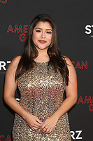 """LOS ANGELES - MAR 5:  Chelsea Rendon at the """"American Gods"""" Season 2 Premiere at the Theatre at Ace Hotel on March 5, 2019 in Los Angeles, CA"""
