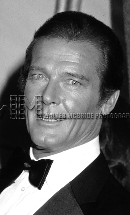 Roger Moore on September 1, 1981 in Los Angeles, California.