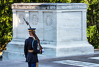 Guarded Tomb of the Unknown Soldier, Arlington Cemetery, Virginia, USA