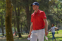 Daniel Berger (USA) makes his way to the 3rd tee during round 1 of the World Golf Championships, Mexico, Club De Golf Chapultepec, Mexico City, Mexico. 3/1/2018.<br /> Picture: Golffile | Ken Murray<br /> <br /> <br /> All photo usage must carry mandatory copyright credit (&copy; Golffile | Ken Murray)