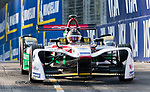 Daniel Abt of Germany from Audi Sport ABT Schaeffler steers his car on his way to win the FIA Formula E Hong Kong E-Prix Round 2 at the Central Harbourfront Circuit on 03 December 2017 in Hong Kong, Hong Kong. Photo by Victor Fraile / Power Sport Images