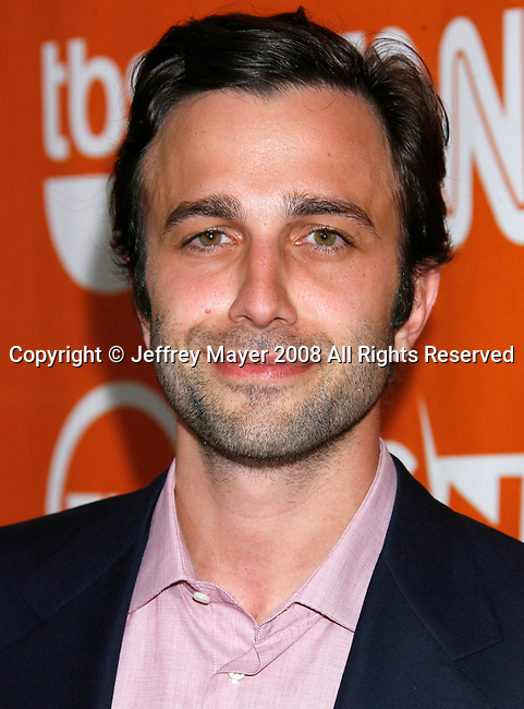 Actor Mike Damus arrives at the Turner Broadcasting TCA Party at The Oasis Courtyard at The Beverly Hilton Hotel on July 11, 2008 in Beverly Hills, California.