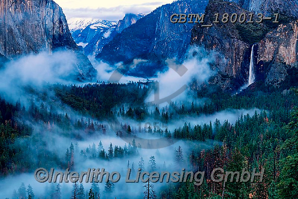 Tom Mackie, LANDSCAPES, LANDSCHAFTEN, PAISAJES, photos,+America, American, Americana, Bridalveil Falls, California, North America, Sierras, Tom Mackie, Tunnel View, USA, Yosemite Na+tional Park, atmosphere, atmospheric, dramatic outdoors, horizontal, horizontals, icon, iconic, impressive, landmark, landmar+ks, landscape, landscapes, mist, misty, mood, moody, national park, water, waterfall, waterfalls, weather,America, American,+Americana, Bridalveil Falls, California, North America, Sierras, Tom Mackie, Tunnel View, USA, Yosemite National Park, atmosp+,GBTM180013-1,#l#, EVERYDAY