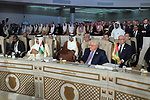 Palestinian President Mahmoud Abbas attends the 30th Arab League summit in the Tunisian capital Tunis on March 31, 2019. Photo by Thaer Ganaim