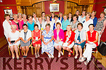 Front l-r Margaret Byrne, 3rd, Ann O'Driscoll, 2nd in the 9th hole, Eleanor Dowd, 2nd 18th hole, Kathleen Burrows, Lady President, Mary Quillinan, Lady Captain, Michelle Moore, Lady Captain prize winner,Kathleen O'Loughlin, first in nine holes and Sharon Cahill, 3rd in 18 hole with members of the Ballybeggan Golf Society at the Lady Captains dinner in the Meadowlands Hotel on Saturday
