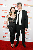 BEVERLY HILLS, CALIFORNIA - FEBRUARY 04: Linda Cardellini and Peter Farrelly at AARP The Magazine's 18th Annual Movies for Grownups Awards at the Beverly Wilshire Four Seasons Hotel on February 04, 2019 in Beverly Hills, California. Credit: ImagesSpace/MediaPunch