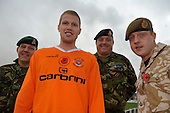 2009-11-04 Blackpool FC Poppy shirt launch