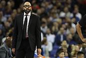 17th January 2019, The O2 Arena, London, England; NBA London Game, Washington Wizards versus New York Knicks; New York Knicks Head Coach David Fizdale