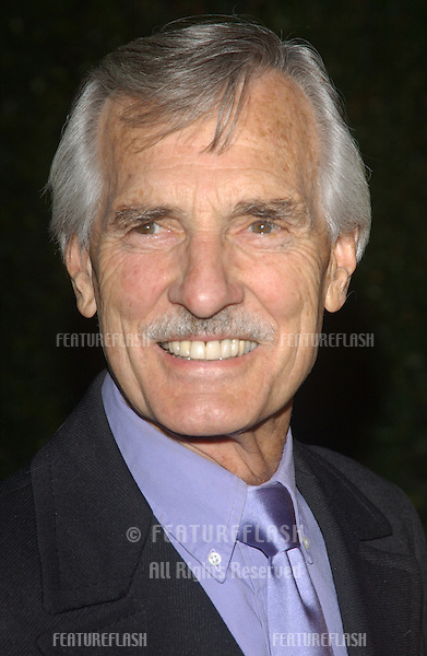 Actor DENNIS WEAVER & wife at the 13th Annual Environmental Media Awards in Los Angeles..November 5, 2003