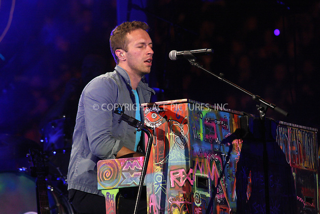 WWW.ACEPIXS.COM . . . . .  ..... . . . . US SALES ONLY . . . . .....October 26 2011, Madrid....Chris Martin and Coldplay preforming ive at the Plaza de Toros de Las Ventas on October 26 2011 in Madrid....Please byline: FAMOUS-ACE PICTURES... . . . .  ....Ace Pictures, Inc:  ..Tel: (212) 243-8787..e-mail: info@acepixs.com..web: http://www.acepixs.com