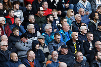 Swansea supporters during the Sky Bet Championship match between Swansea City and Cardiff City at the Liberty Stadium, Swansea, Wales, UK. Sunday 27 October 2019