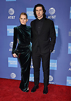 PALM SPRINGS, CA - JANUARY 03: Joanne Tucker (L) and Adam Driver attend the 30th Annual Palm Springs International Film Festival Film Awards Gala at Palm Springs Convention Center on January 3, 2019 in Palm Springs, California.<br /> CAP/ROT/TM<br /> &copy;TM/ROT/Capital Pictures