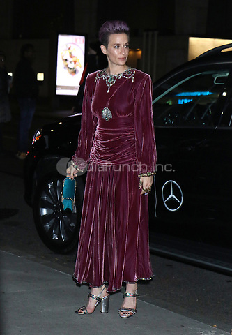 NEW YORK, NY - NOVEMBER 11: Megan Rapinoe at the 2019 Glamour Women of the Year Awards at Alice Tully Hal, Lincoln Center in New York City on November 11, 2019. Credit: RW/MediaPunch