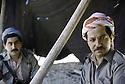 Iran 1985.Massoud Barzani et a gauche Hoshyar Zibari.Iran 1985.Massud Barzani and left, Hoshyar Zibari