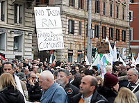 Manifestazione del Popolo della Liberta' a Roma, 20 marzo 2010..People of Freedom center-right party demonstrate in Rome, 20 march 2010..UPDATE IMAGES PRESS/Riccardo De Luca