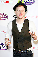 PHILADELPHIA, PA - DECEMBER 5 :  Olly Murs pictured on the red carpet at Q 102's Jingle Ball 2012 presented by Xfinity at the Wells Fargo Center in Philadelphia, Pa on December 5, 2012  © Star Shooter / MediaPunch Inc /NortePhoto©
