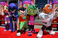 "Teen Titans at the premiere for ""Teen Titans Go! to the Movies"" at the TCL Chinese Theatre, Los Angeles, USA 22 July 2018<br /> Picture: Paul Smith/Featureflash/SilverHub 0208 004 5359 sales@silverhubmedia.com"