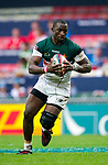 Zimbabwe play Brazil in a Qualifier Quarter Final on Day 3 of the Cathay Pacific / HSBC Hong Kong Sevens 2013 on 24 March 2013 at Hong Kong Stadium, Hong Kong. Photo by Manuel Queimadelos / The Power of Sport Images