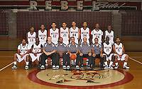 Miller High School basketball team photo.