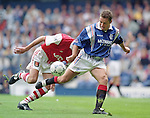 Ally McCoist, Rangers v Arsenal August 1996, Richard Gough's testimonial match